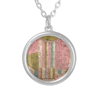 Philadelphia 1838 silver plated necklace