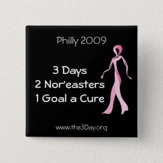 Philadelphia 2009 3 Day Button