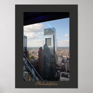 Philadelphia Aerial View Poster