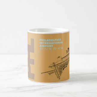 Philadelphia Airport (PHL) Diagram Mug
