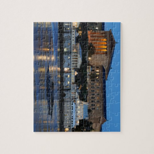 Philadelphia Art Museum and Fairmount Water Works Jigsaw Puzzle