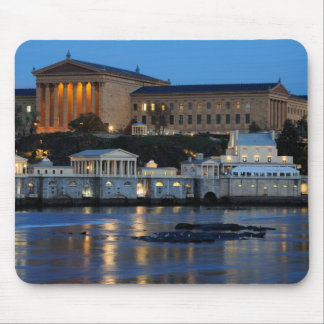 Philadelphia Art Museum and Fairmount Water Works Mouse Pad