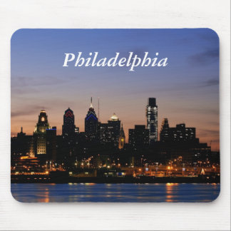 Philadelphia at Twilight Mousepad