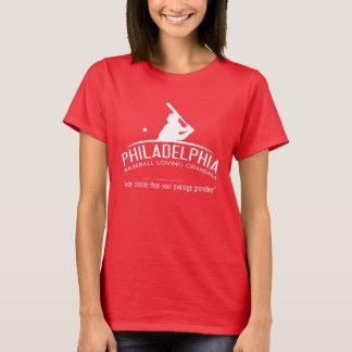 Philadelphia Baseball Loving Grandma - Way Cooler T-Shirt