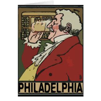 Philadelphia Beer Vintage Card