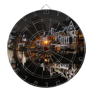 Philadelphia Boathouse Row At Sunset Dart Board