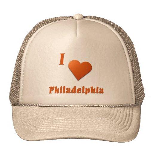 Philadelphia -- Burnt Orange Trucker Hat