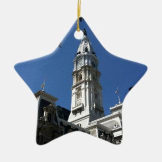 Philadelphia Ceramic Star Ornament