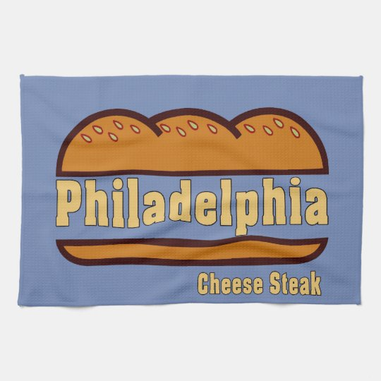 Philadelphia Cheese Steak design Kitchen Towel