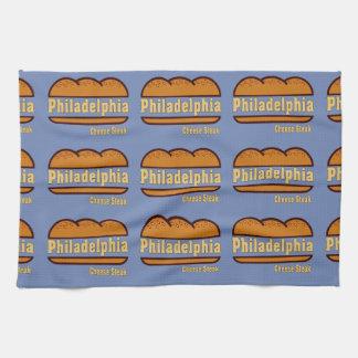 Philadelphia Cheese Steak design Kitchen Towel
