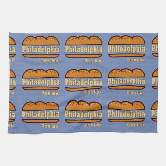 Philadelphia Cheese Steak design Towel