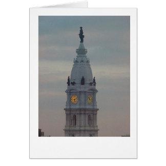 Philadelphia City Hall Card