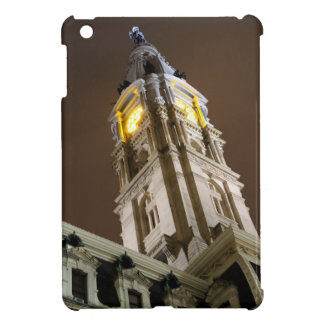 Philadelphia City Hall Clock Tower At Night iPad Mini Cover