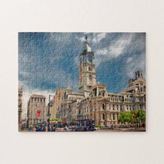 Philadelphia City Hall Photo Puzzle