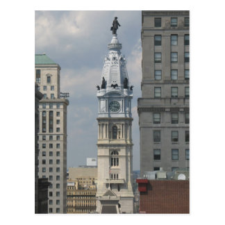 Philadelphia City Hall Postcard