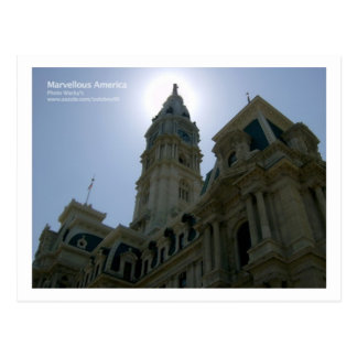 Philadelphia City Hall Postcard