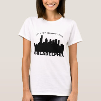 Philadelphia: City of Champions Black T-Shirt