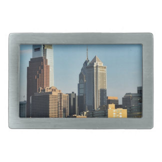 Philadelphia City Skyline Belt Buckles