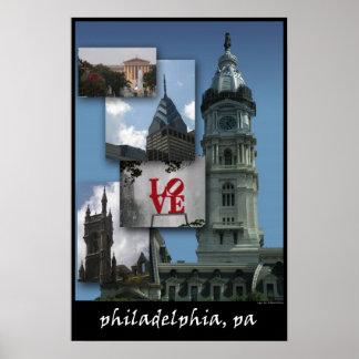 Philadelphia - Cityscape Poster