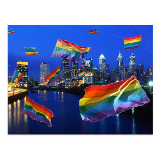 Philadelphia Flying Pride Postcard