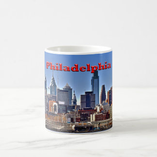 "Philadelphia ""HDR"" Skyline Mug"