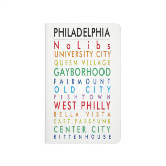 Philadelphia hoods pocket journal pride