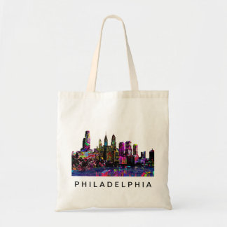 Philadelphia in graffiti tote bag