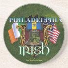 Philadelphia Irish Pride Coaster