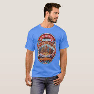 Philadelphia Lager Vintage Label T-Shirt
