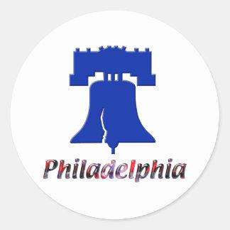 Philadelphia Liberty Bell Classic Round Sticker