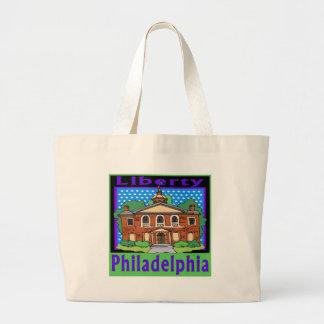 Philadelphia Liberty Hall Large Tote Bag