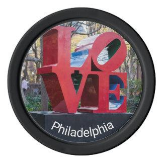 Philadelphia LOVE Poker Chips