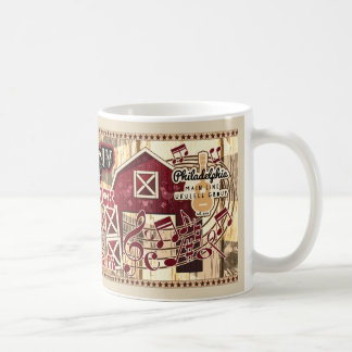 Philadelphia Main Line Ukulele Barnfest IV Coffee Mug