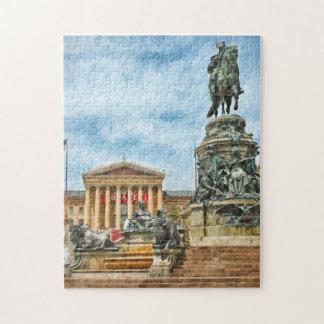 Philadelphia Museum Of Art Photo Puzzle