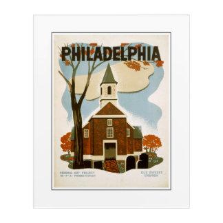 Philadelphia Old Swedes Church Acrylic Print