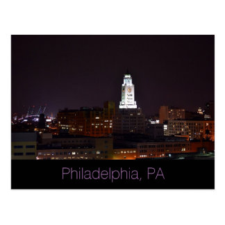 Philadelphia, PA  Post Card-Full Moon Postcard