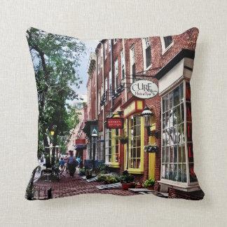 Philadelphia PA - S 2nd Street Throw Pillow