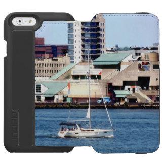 Philadelphia PA - Sailboat by Penn's Landing Incipio Watson™ iPhone 6 Wallet Case