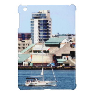 Philadelphia PA - Sailboat by Penn's Landing iPad Mini Cover