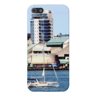 Philadelphia PA - Sailboat by Penn's Landing iPhone 5/5S Case