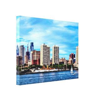 Philadelphia Pa Skyline Canvas Print