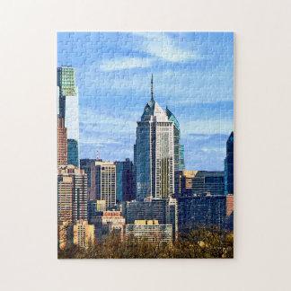 Philadelphia Pa Skyline II Jigsaw Puzzle
