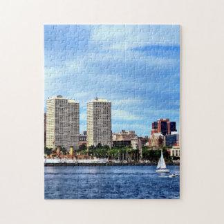 Philadelphia Pa Skyline Jigsaw Puzzle