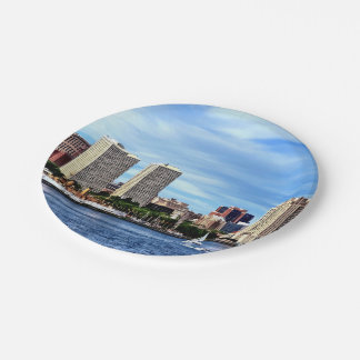 Philadelphia Pa Skyline Paper Plate