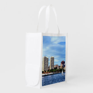 Philadelphia Pa Skyline Reusable Grocery Bag