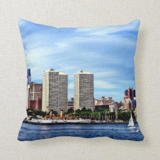 Philadelphia Pa Skyline Throw Pillow