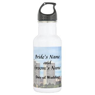 Philadelphia Pa Skyline Wedding Supplies 532 Ml Water Bottle