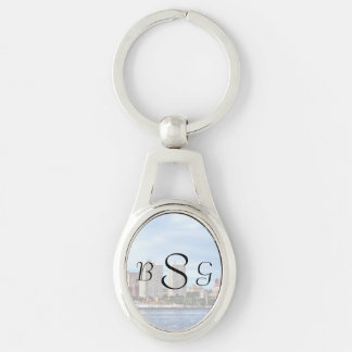 Philadelphia Pa Skyline Wedding Supplies Keychain