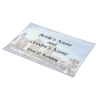 Philadelphia Pa Skyline Wedding Supplies Placemat