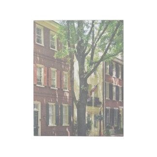 Philadelphia PA - Society Hill Street Notepad